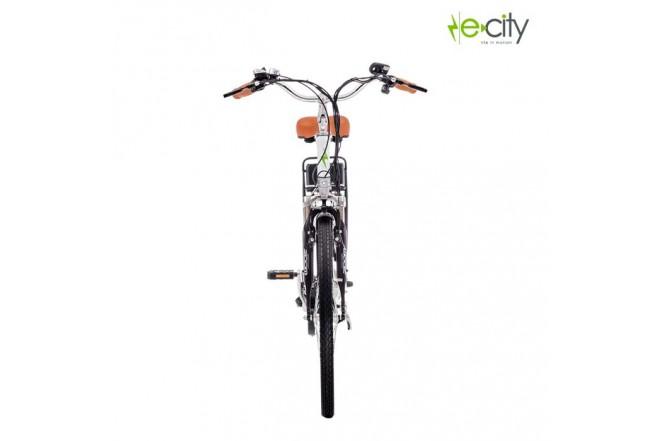 Bicicleta Electrica e-city Maverik Blanca