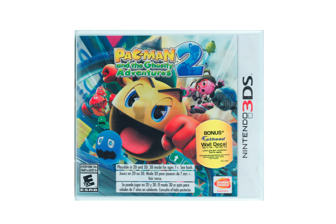 Video Juego NINTENDO 3DS Pac-man And The Ghostly Adventures 2