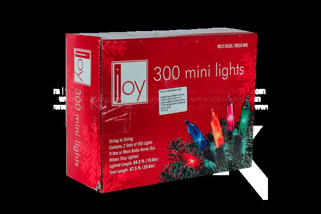 Luces Navideñas de Colores 300 Bombillos