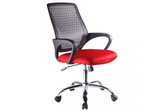 Silla de Oficina Roja/Negra OFFICE MART 5918