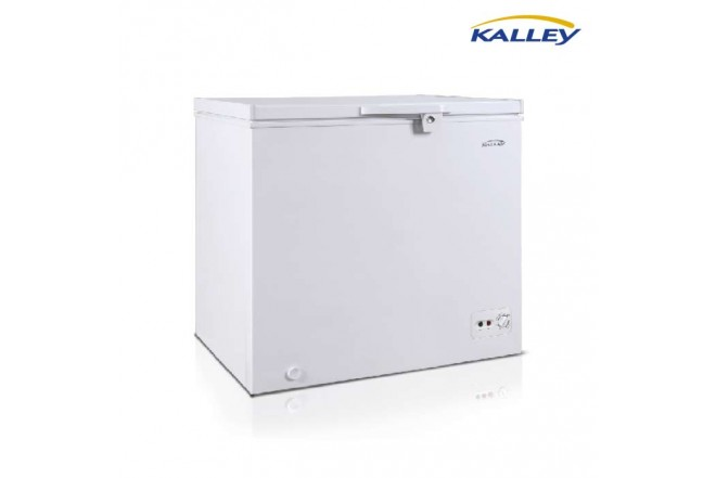 Congelador KALLEY 198LT BCGH198NB01 Blanco