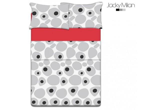 Juego de cama Doble JACKY MILAN Jack Dots 180 Hilos