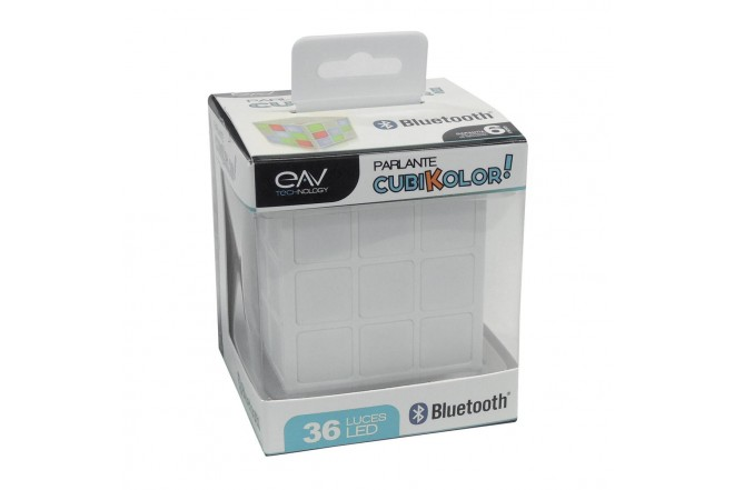 Parlante EAV Bluetooth CubiKolor