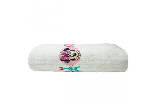 Toalla DISNEY Minnie 70 x 130 cm Blanco