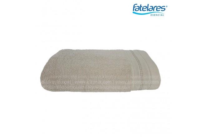 Toalla de cuerpo FATELARES Macadamia 70 x 140 cm Crema