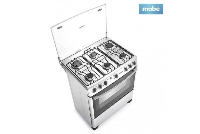 Estufa MABE 30 con Horno+Grill EMC30IXX-4
