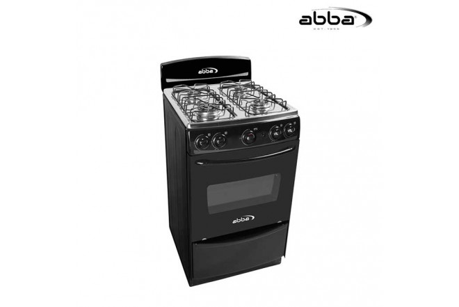 Estufa ABBA 20 AB 101-5N N Gas Natural - Color Negro