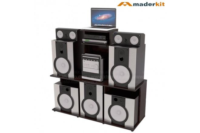 Mesa de Audio MADERKIT DJ 00844-MD-W-R