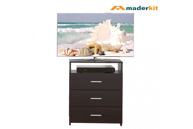 "Cómoda TV 32"" MADERKIT Wengue 01032-CO-W-R"