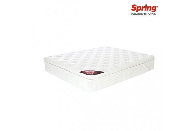 Colchon SPRING Doble Comfort One Box 140 x 190 cms