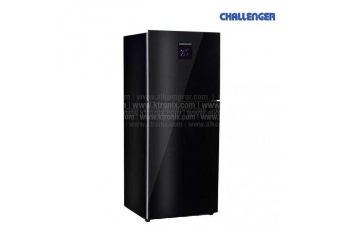 Nevera CHALLENGER 361Lts CR496 Vidrio Negra
