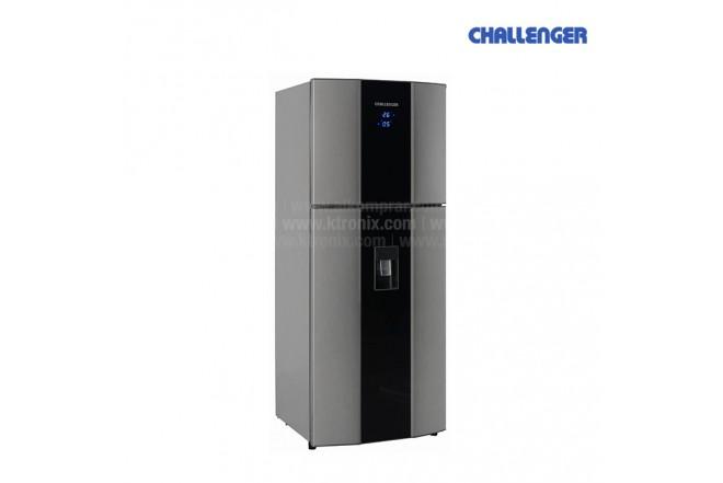 Nevera CHALLENGER 377Lts CR493B Gris