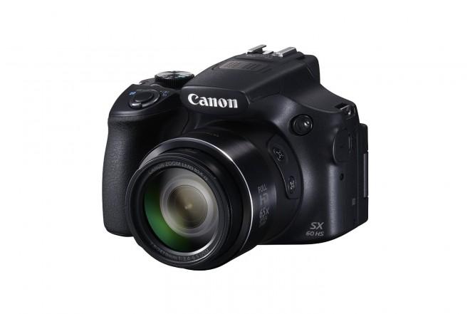 Cámara Canon SX60 HS Semiprofesional Negra