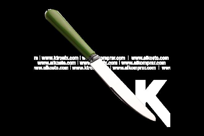 Cubiertos Juego x 24 18/0 - Verde oscuro