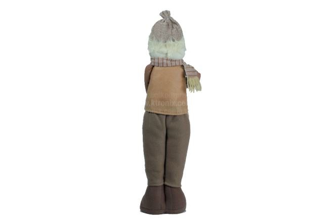 Decoración Navideña Hombre De Nieve Parado 52 cm