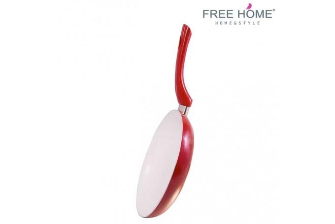 Sartén FREE HOME 24 cm Rojo XT-DC6703B