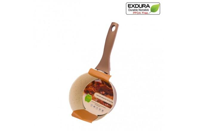Cacerola EXDURA 16 cm Beige Apto para estufas de inducción