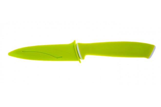 Cuchillo de Cocina FREE HOME Pelador 8.89cms Verde