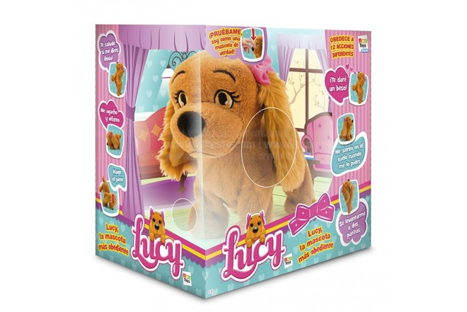 Perrito interactivo BOING TOYS Lucy