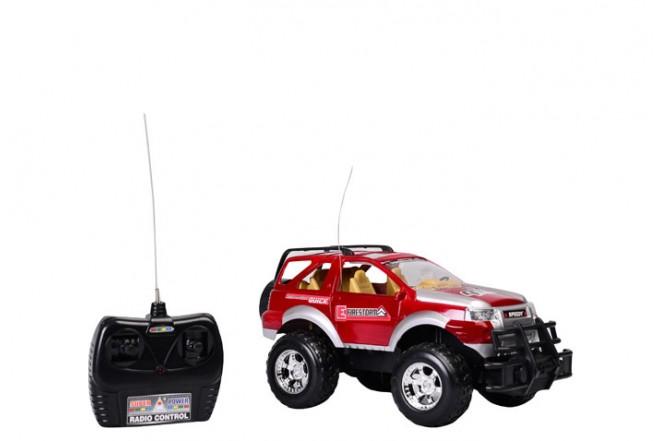 Jeep deportivo radio control escala 1:16 Happy Line rojo