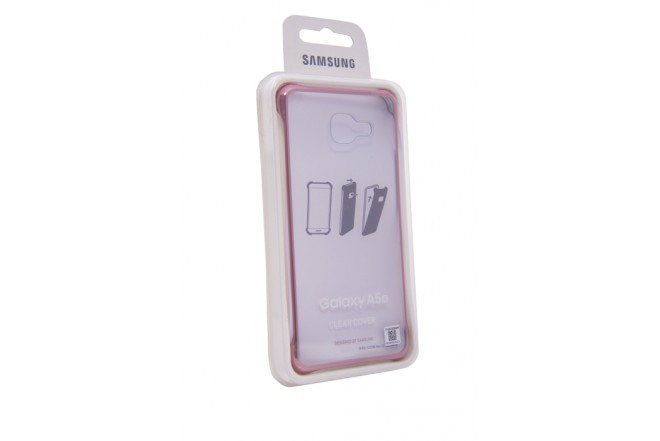 Clear Cover Pink Gold Ser A5