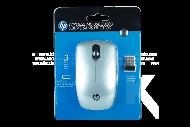 Mouse HP Inalámbrico  Z3200 Plateado Bluetooth