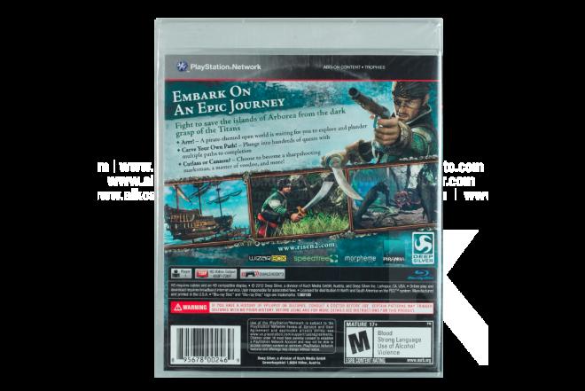 Vídeo Juego PS3 Risen 2
