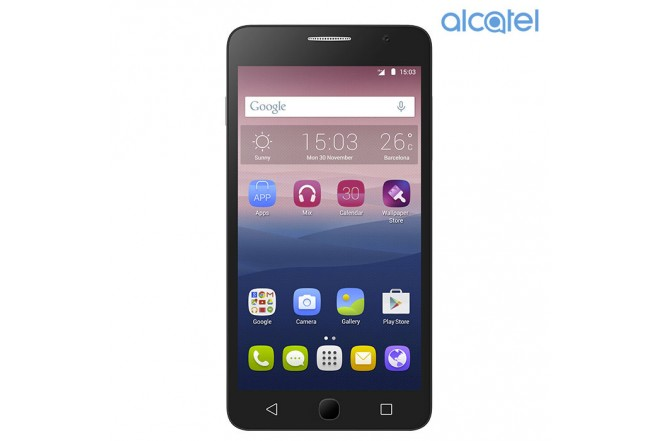 Celular Alcatel Pop Star 3G Plata - Dorado