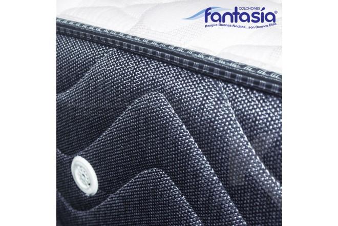 KOMBO FANTASÍA: Colchón Doble Blue Restek 140x190 cms + Base cama