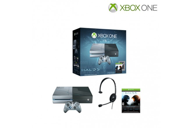Consola XBOX ONE 1TB + Juego Halo 5: Guardians