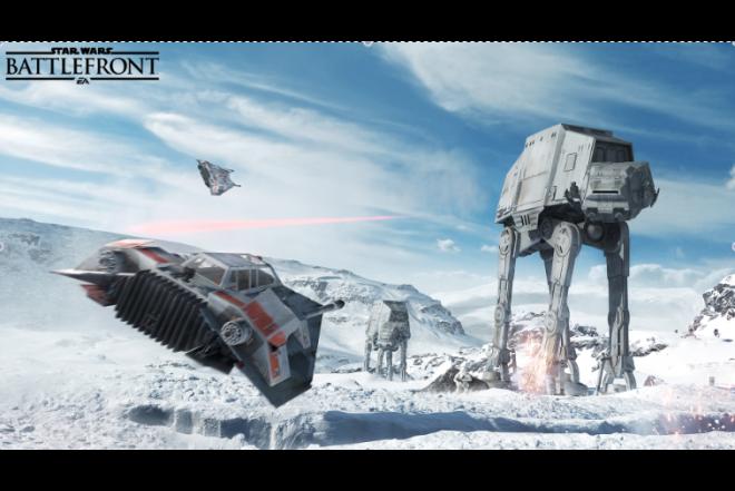 Videojuego PS4 StarWars BattleFront