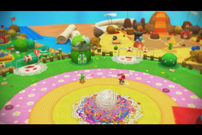 Videojuego WII U Yoshi's Woolly World