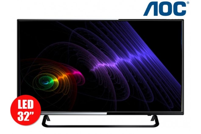 "Combo Tv 32"" 80cm LED HD AOC + Celular E41"