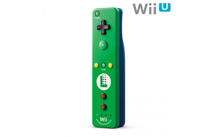 Control Remoto NINTENDO Wii Plus Luigi Verde