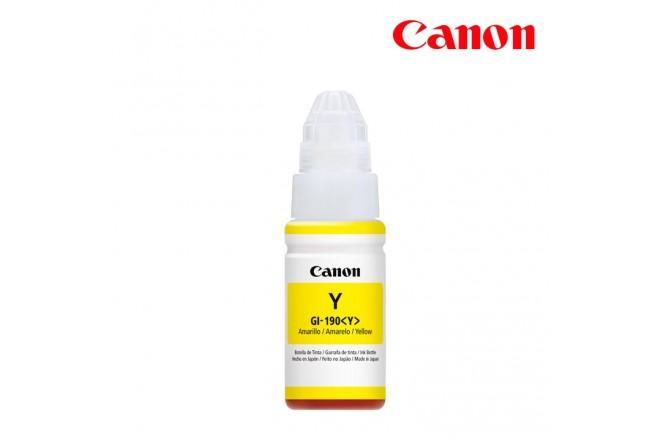 Botella de Tinta CANON Gi-190Y