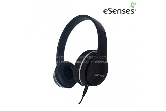 Audífono ESENSES Alámbrico OnEar 3.5 Negro