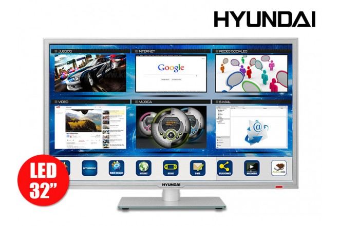 """TV 32"""" (80cm) LED HYUNDAI HYLED323iNT HD internet"""