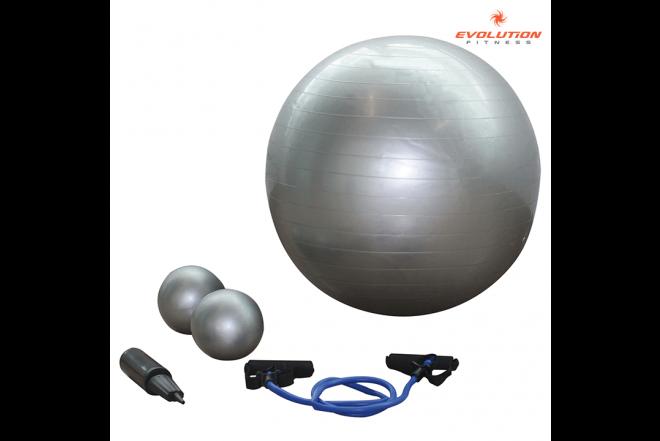 Kombo yoga (Balón+Inflador+Cuerdas+Pesas) EVOLUTION