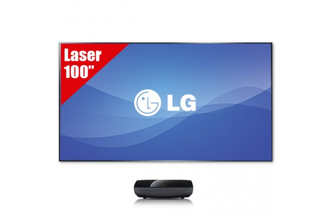 "Laser TV 100"" LG HECTO FHD"