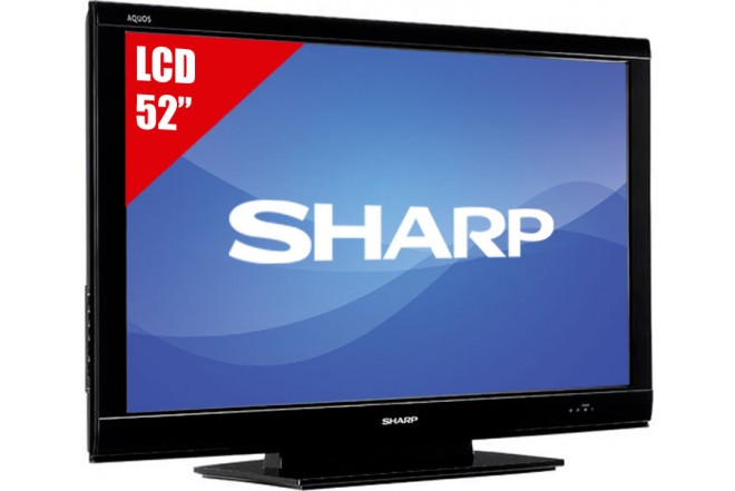 "TV 52"" LCD SHARP LC-52D78U FHD"