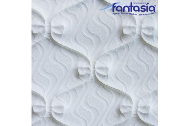 Colchón FANTASÍA Extradoble Marfil Plasencci 160x190 cms