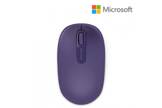 Mouse MICROSOFT 1850 Wireless Mobile Morado