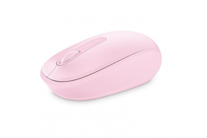 Mouse MICROSOFT Inalámbrico 1850 Rosado