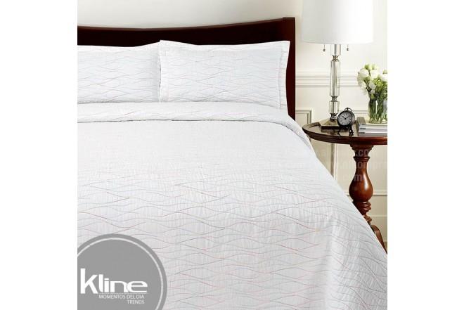 Cubrecama K-LINE Sencillo Multicolor