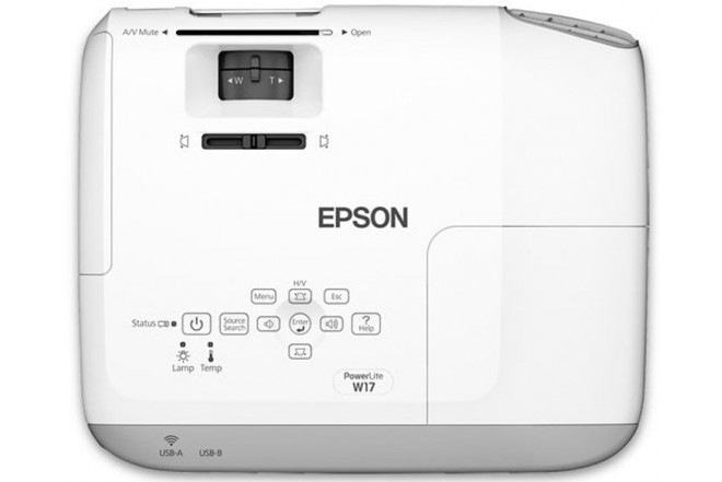 Videoproyector EPSON PowerLite W-17