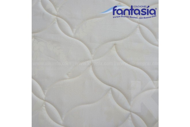 Colchón FANTASÍA Semidoble Spoom Aqcua No Flip 120x190 cms