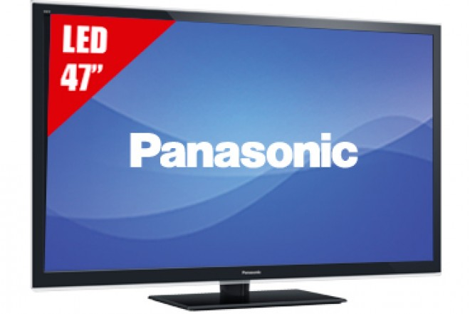 "TV 47"" LED PANASONIC 47ET5W FHD 3D"