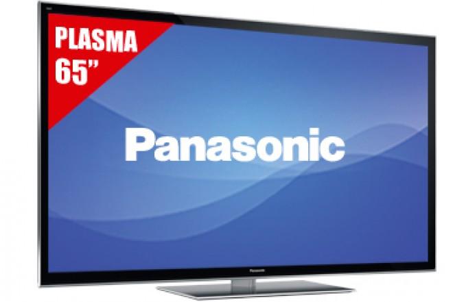 "TV 65"" Plasma PANASONIC 65VT50 FHD 3D"