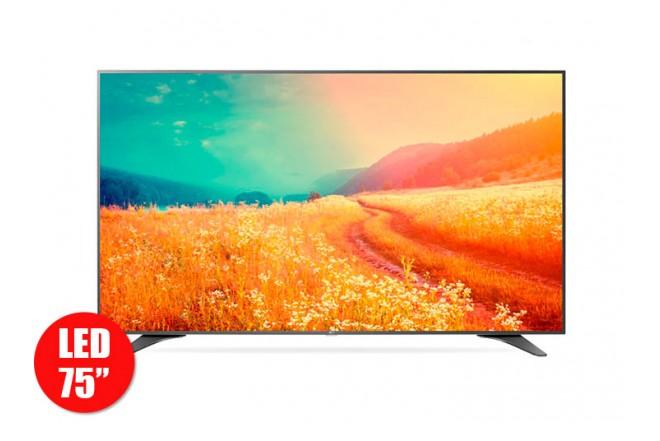 """Tv75"""" 189cm LED LG 75UH655T Ultra HD Internet"""