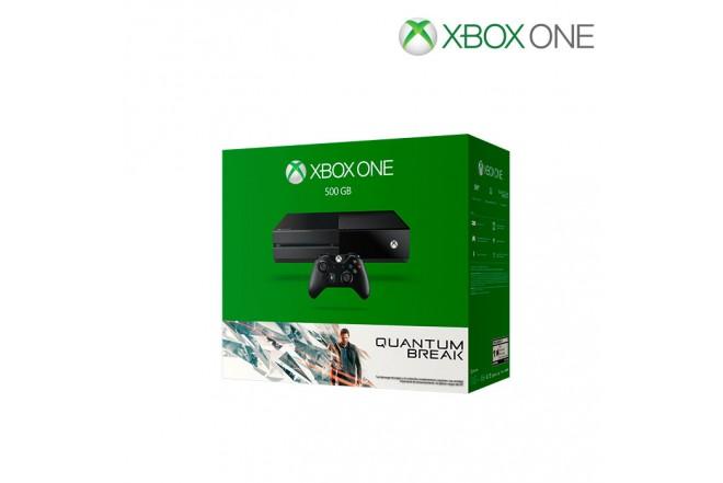 Consola XBOX ONE 500G, 1 Control, Videojuego Quantum Break + Xbox live 3 meses